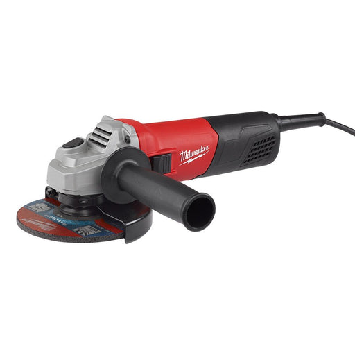 "Milwaukee 100mm (4"") 800W, 19mm max cutting depth, 11 500 rpm AG800-100"