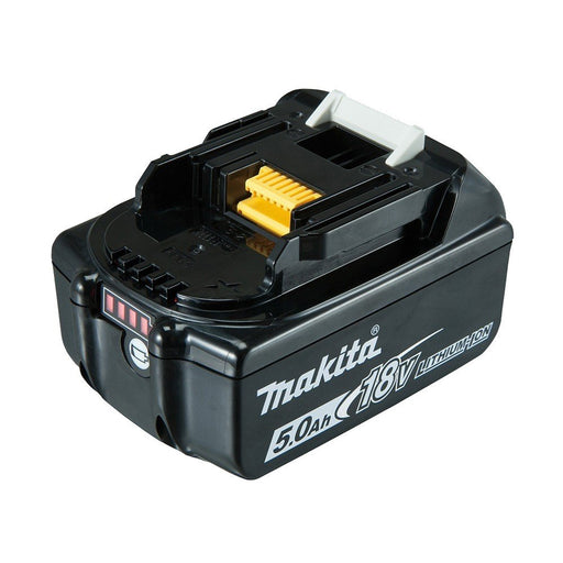 Makita 18V 5.0Ah Battery with fuel gauge indicator - Loose BL1850B-L
