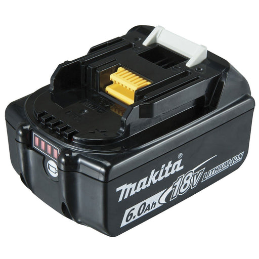Makita 18V 6.0Ah Battery with fuel gauge indicator - Loose BL1860B-L