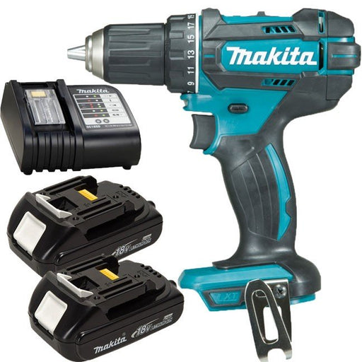 Makita 18V Driver Drill Kit  DDF482SYE