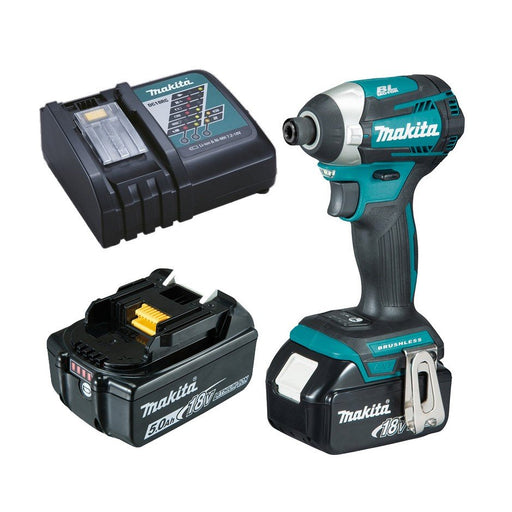 Makita 18V COMPACT BRUSHLESS  3-Stage Impact Driver Kit DTD154RTE
