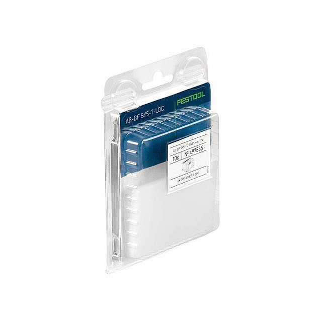 Festool Plastic Label Covers for SYS T-Loc Systainers AB-BF SYS TL 55 x 85mm /10x