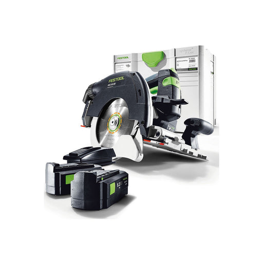 Festool HKC 55 160mm Cordless Circular Saw Plus 5.2Ah HKC 55 EB-Plus Li 5.2Ah