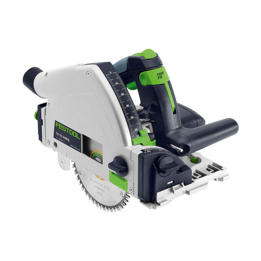 Festool TS 55R 160mm Plunge Cut Circular Saw with Rail TS 55 REBQ-Plus FS
