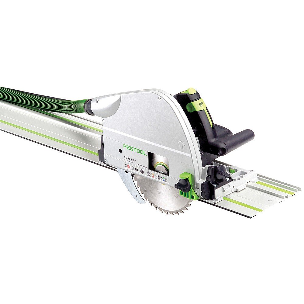 Festool TS 75 210mm Plunge Cut Circular Saw with Rail TS 75 EBQ-Plus FS