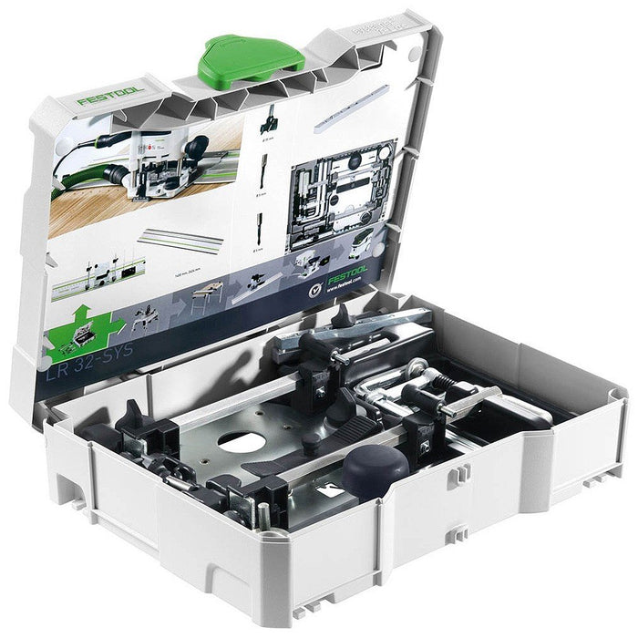 Festool LR 32mm Hole Drilling System Systainer Set LR 32-SYS