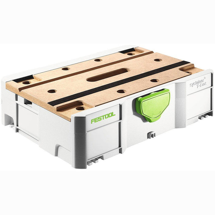 Festool Systainer SYS 1 T-Loc with MFT Timber Lid SYS for MFT
