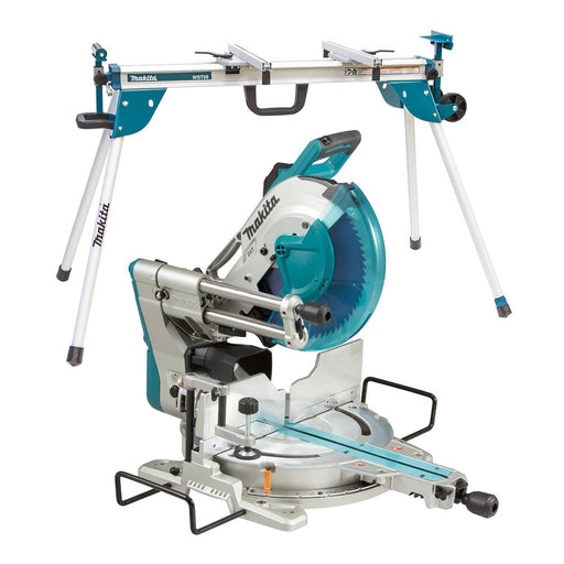 Makita 1800W 305mm Slide Compound Mitre Saw and Stand LS1219-WST06