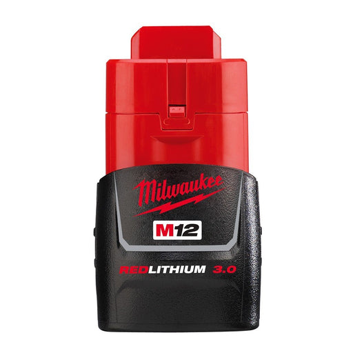 Milwaukee  M12 3.0Ah Compact Battery - Carton Packaging M12B3