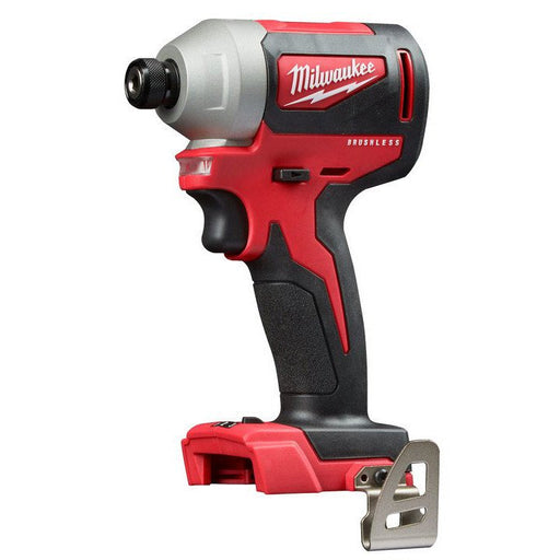"Milwaukee M18 Brushless 1/4"" Hex Impact Driver - Tool Only M18BLID2-0"