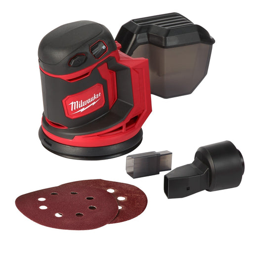 Milwaukee M18 125mm Random Orbital Sander - Tool only M18BOS125-0