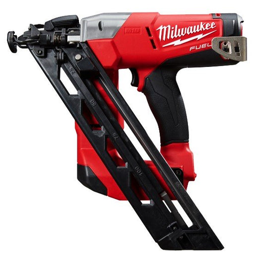 Milwaukee M18 FUEL 15GA Angled Nailer, 34° degree, 32-63mm, No GAS required, Case - Tool only M18CN15GA-0C
