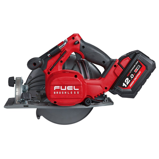 Milwaukee M18 FUEL 184mm Circular Saw- 12.0Ah kit M18FCS66-121C