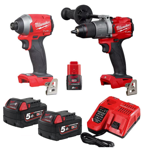 Milwaukee M18 FUEL 2 PIECE POWER PACK 2A2  M18FPP2A2-502C