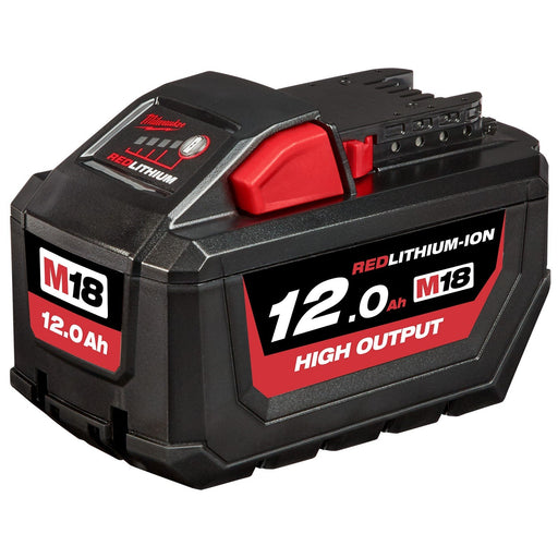 Milwaukee M18 REDLITHIUM High Output 12.0Ah Battery Pack - M18HB12