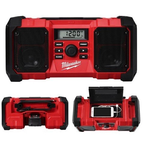Milwaukee  M18 Jobsite Radio(Standard) Tool only M18JSR-0