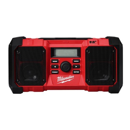 Milwaukee  M18 Jobsite Radio 18V (FM/DAB/DAB+) - Tool only (digital radio) M18JSRDAB+-0