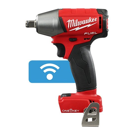 "Milwaukee M18 FUEL 1/2"" Impact Wrench Friction Ring with ONE-KEY- Tool Only M18ONEIWF12-0"