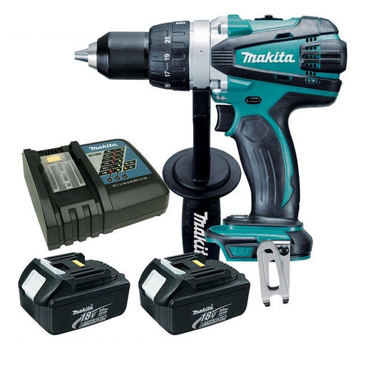 Makita 18V Heavy Duty Driver Drill Kit  DDF458RFE