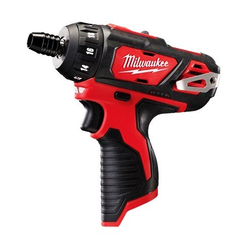 "Milwaukee  M12 1/4"" Hex Sub-Compact Screwdriver 2-Speed - Tool Only M12BD-0"