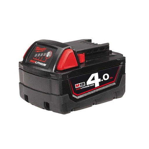 Milwaukee M18 REDLITHIUM 4.0Ah Battery Pack - Gift Box Packaging M18B4