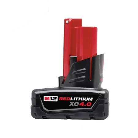 Milwaukee M12 4.0Ah Battery - Carton Packaging M12B4