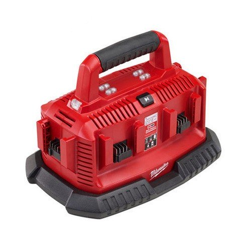 Milwaukee M18 6 Pack Charger - Sequential Charging M1418C6