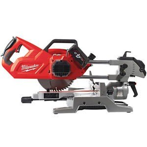 "Milwaukee M18 216mm (8"") Sliding Mitre Saw - Tool Only M18SMS216-0"