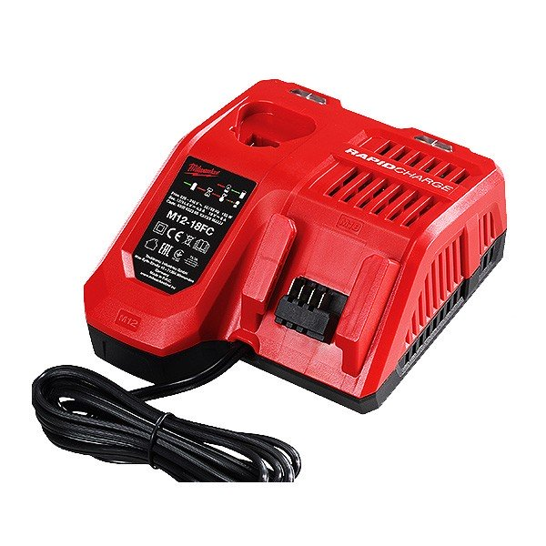 Milwaukee 12V/18V Dual FAST Charger - Tool only CARTON M12-18FC