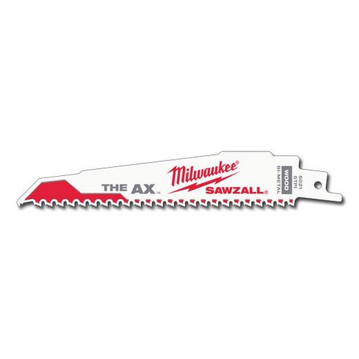 Milwaukee The Ax Wood Demolition SAWZALLBlade 150mm 5TPI Pkt 25 48008021