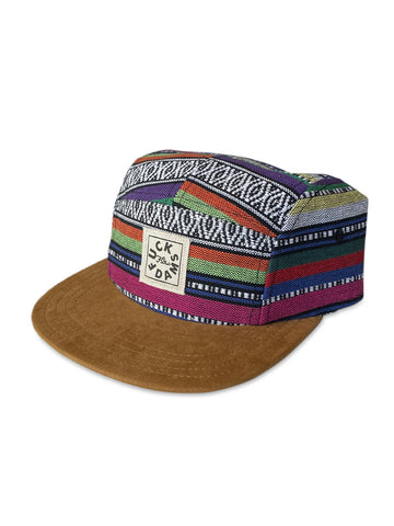 Mexi style #Fuckdams 5 panel hat