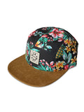 Tropical #Fuckdams 5 panel hat