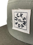 Vintage #Fuckdams 5 panel hat