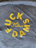 #Fuckdams mark charcoal tee