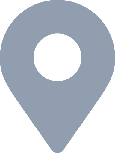 light blue map marker