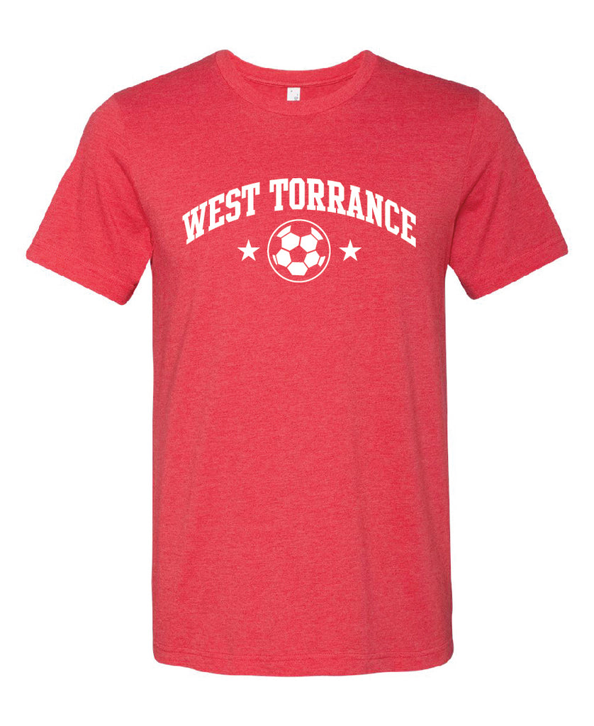 AYSO Shirt Heather Red