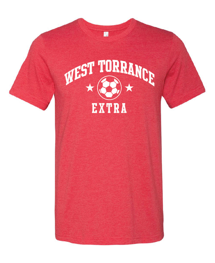 AYSO EXTRA Shirt Heather Red