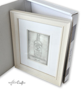 Pewter Fine Art Irish Whiskey Bottle
