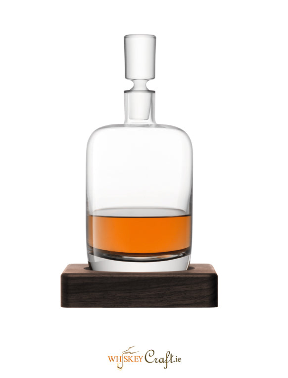 Renfew Decanter & Walnut Base