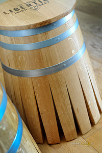 Barrel Stave Bar Stool