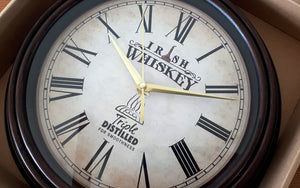 Irish Whiskey Wall Clocks