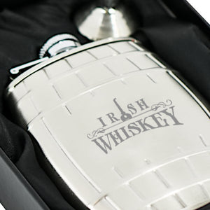 Barrel Hip Flask