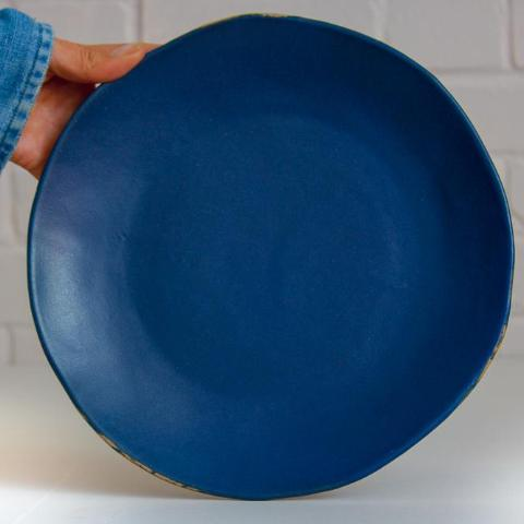 Riviera Dining Plate - dark blue still available!