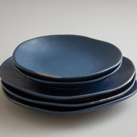 Riviera Side Plate - dark blue available