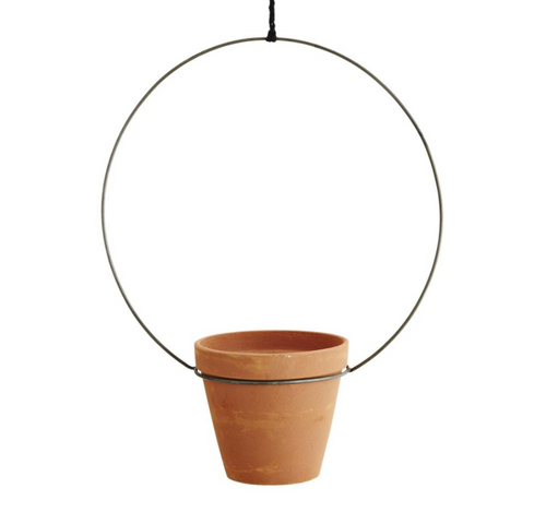 Terracotta Pot with Round Holder - SOLD OUT