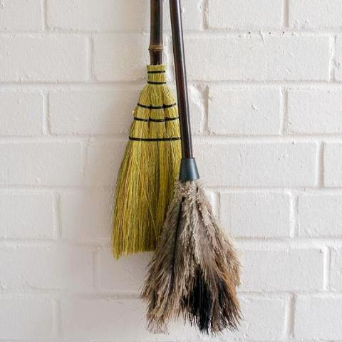 Dusting Set - Broom and Feather Duster - SOLD OUT
