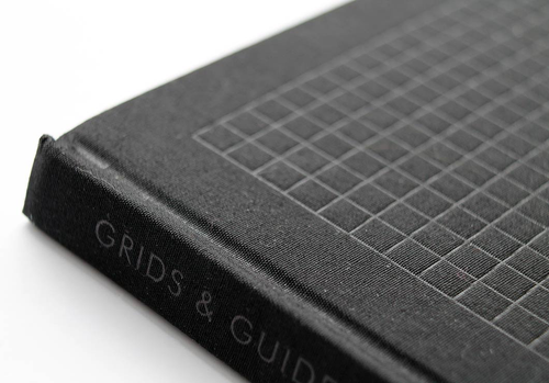 Grids And Guides Notebook - two colours available