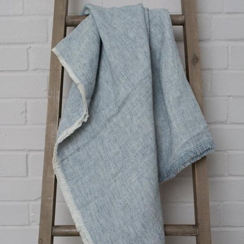 Cotton And Linen Blanket - two colours available