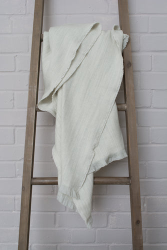 Cotton & Wool Blanket - two colours available