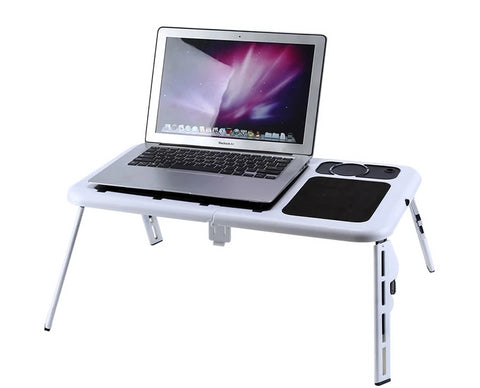 ERGOFINITY™ Laptop Bed Table & Cooling